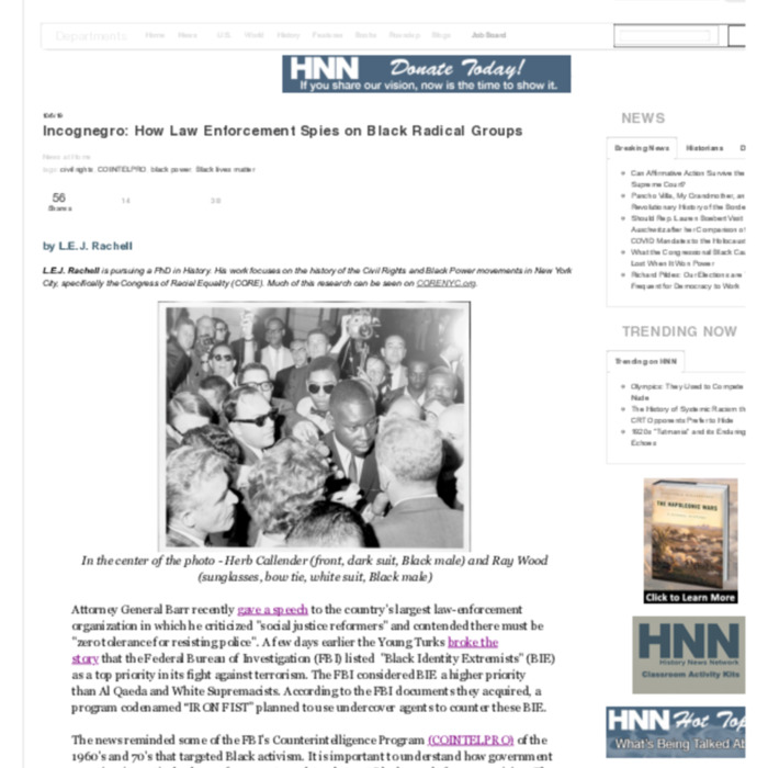 Incognegro- How Law Enforcement Spies on Black Radical Groups | History News Network.pdf
