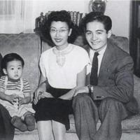 photo of Yuri and Bill Kochiyama, 7 Arts CORE, with son Billy